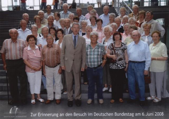 Besuch des Bundestages